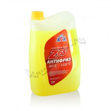 AGA_Antifreeze_05l_yellow